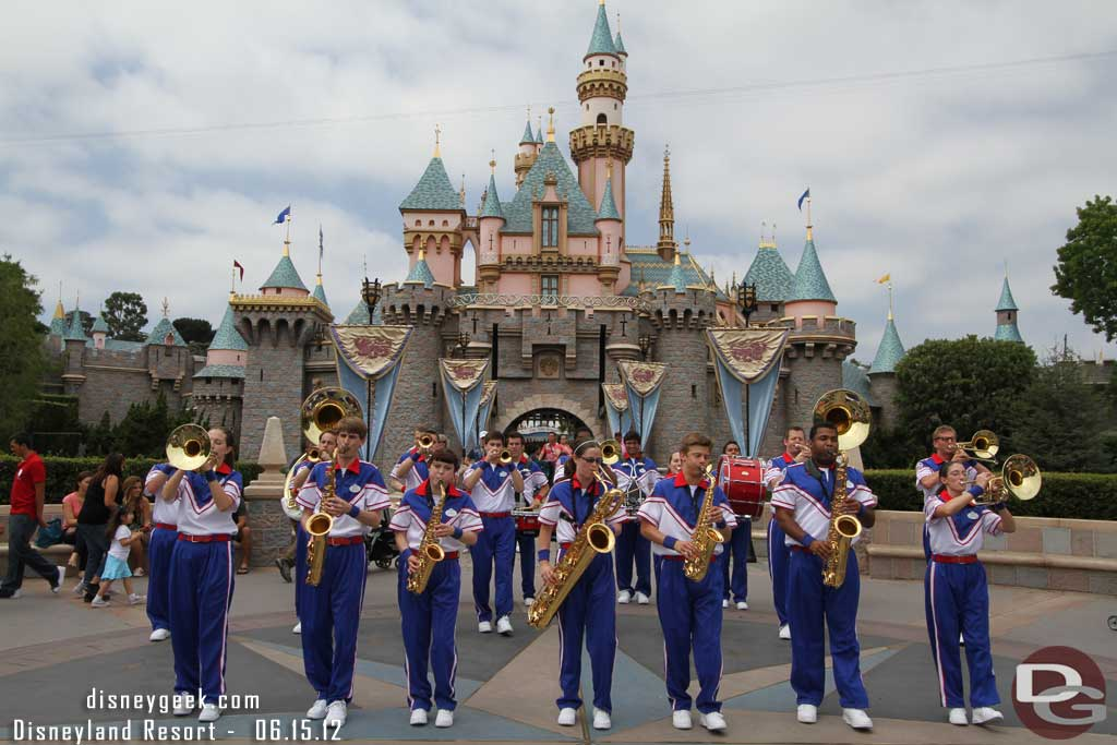 All-American College Band @ Disneyland