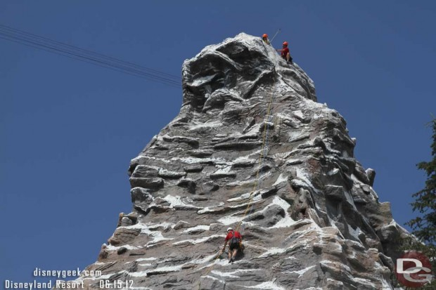 Climbers on the Matterhorn