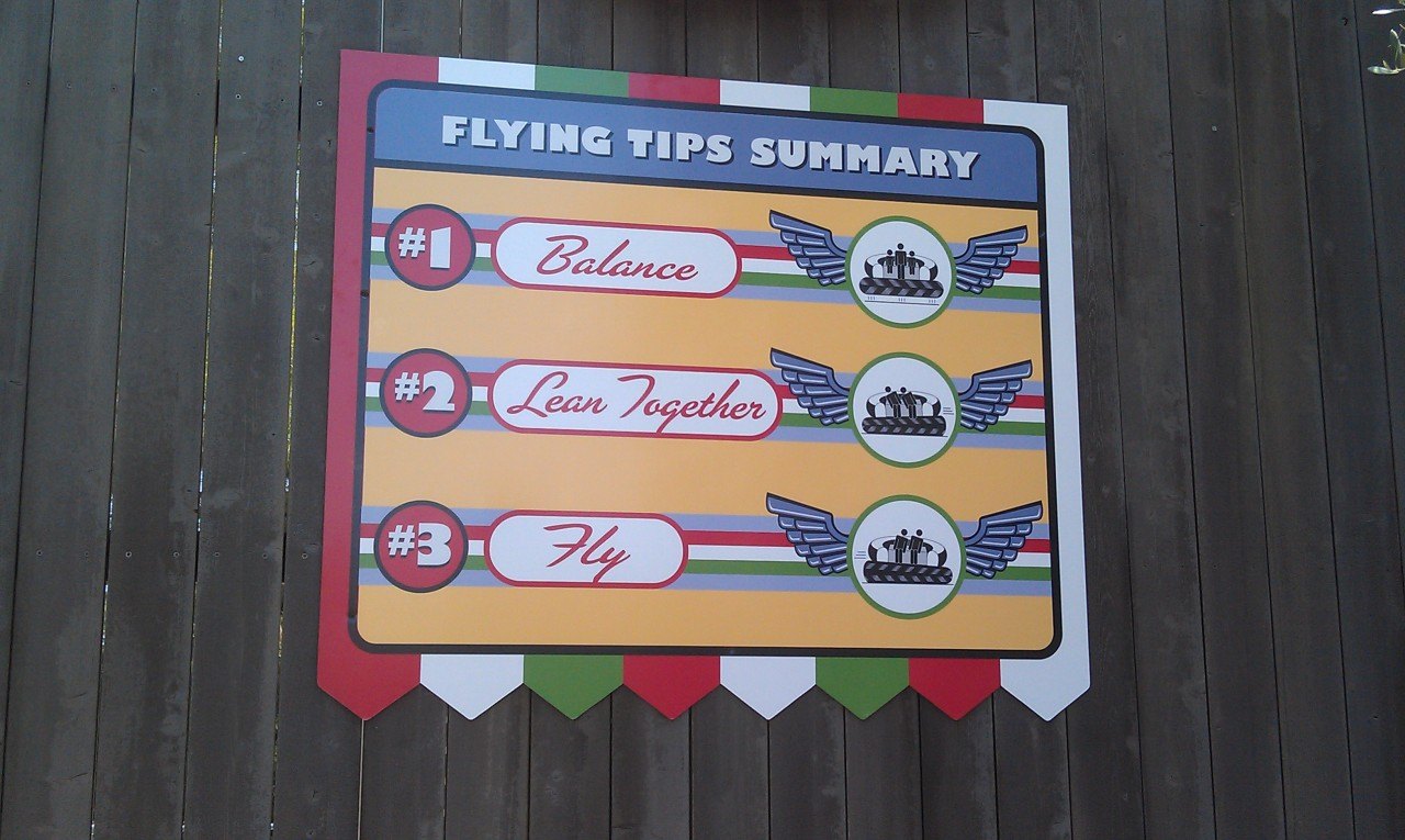Instructions for the Flying Tires