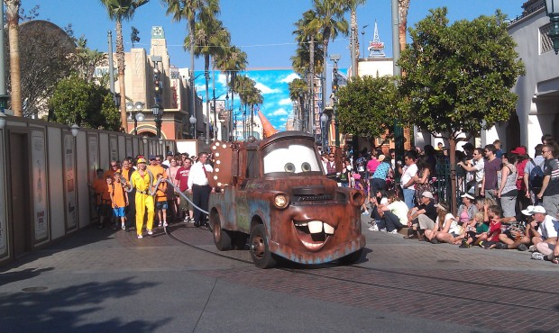 Mater closes out the parade.