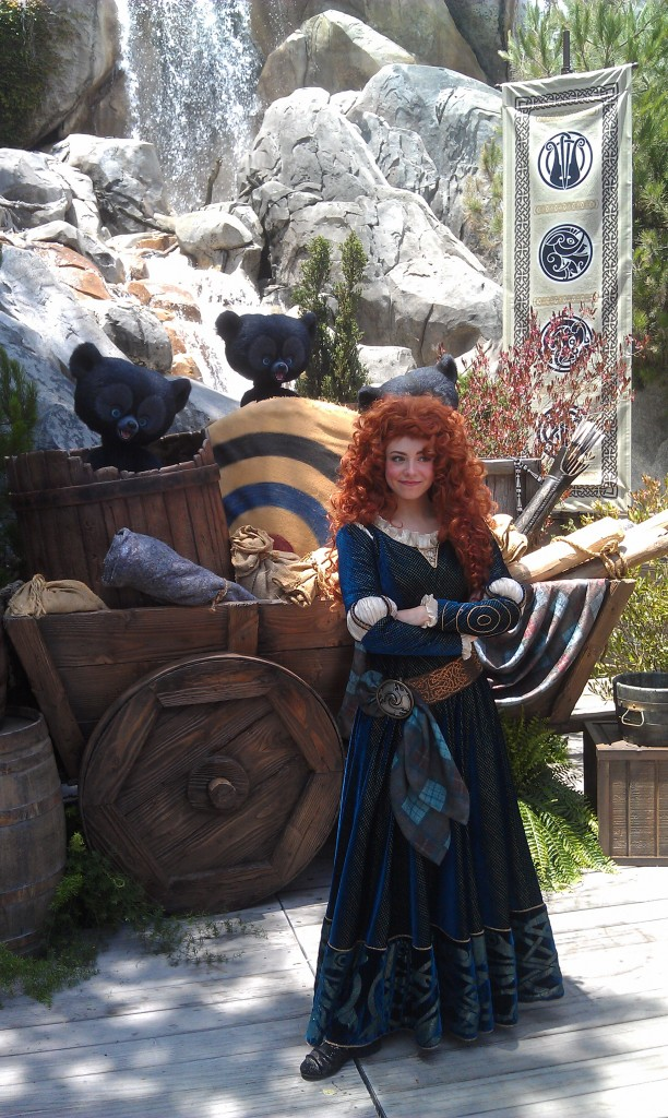 Merida is in DCA today for the media