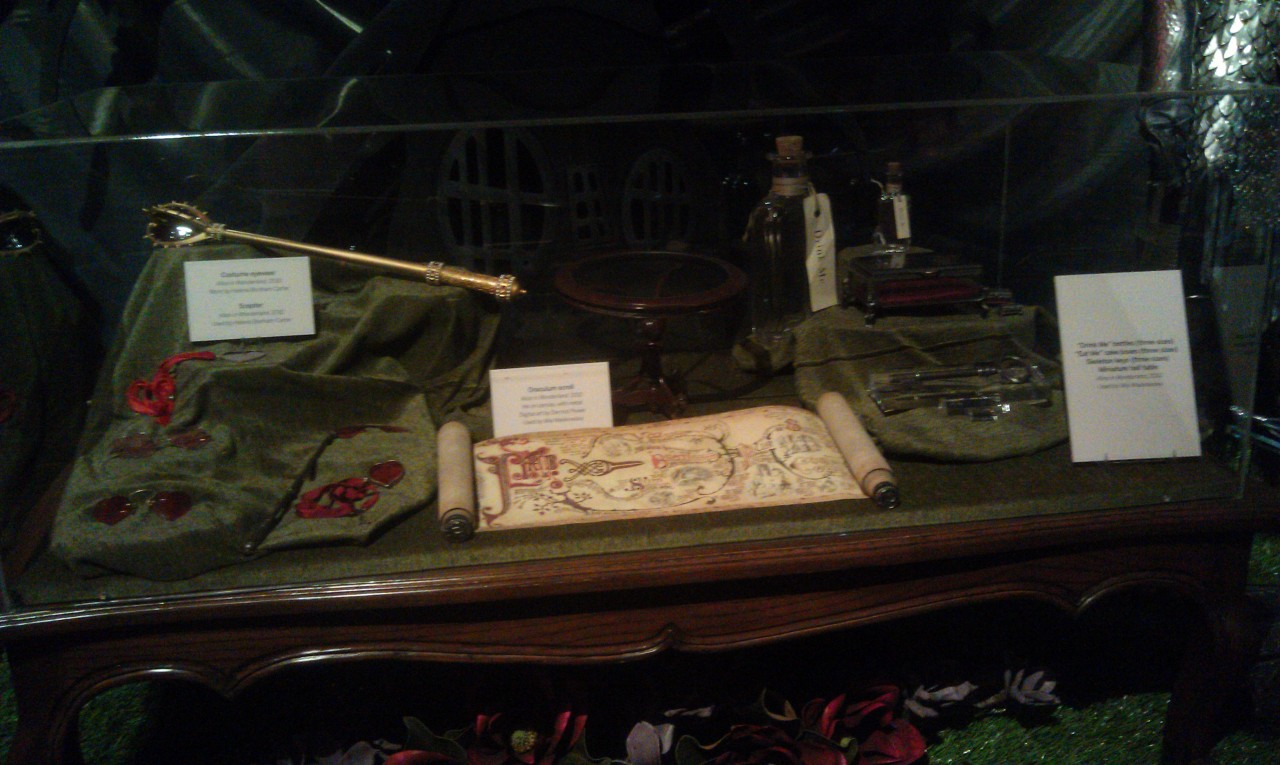 Props from Alice in Wonderland