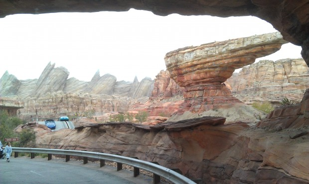 Starting my morning off in #CarsLand
