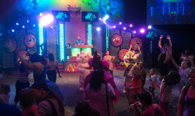 Stopped by Dancin with Disney