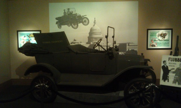 The model t from the Absent Minded Professor