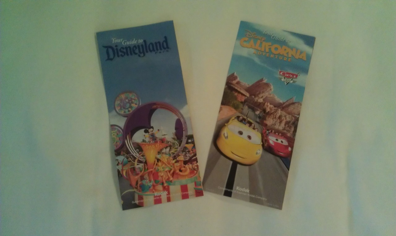 The new park maps.