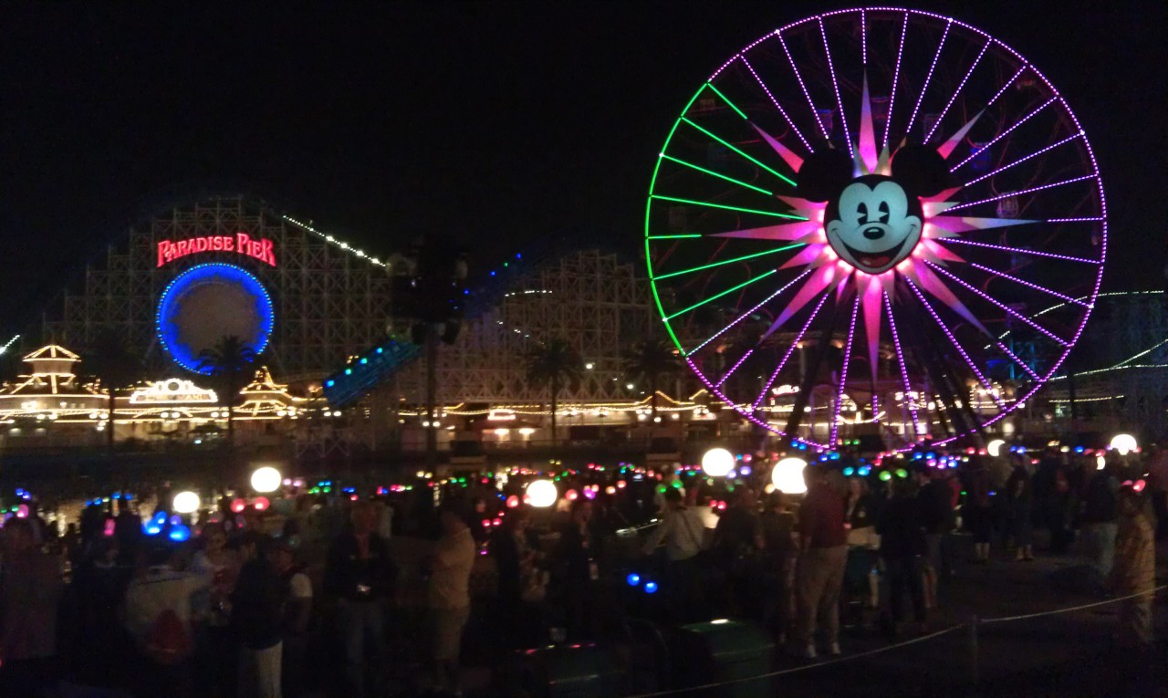 Waiting for World of Color