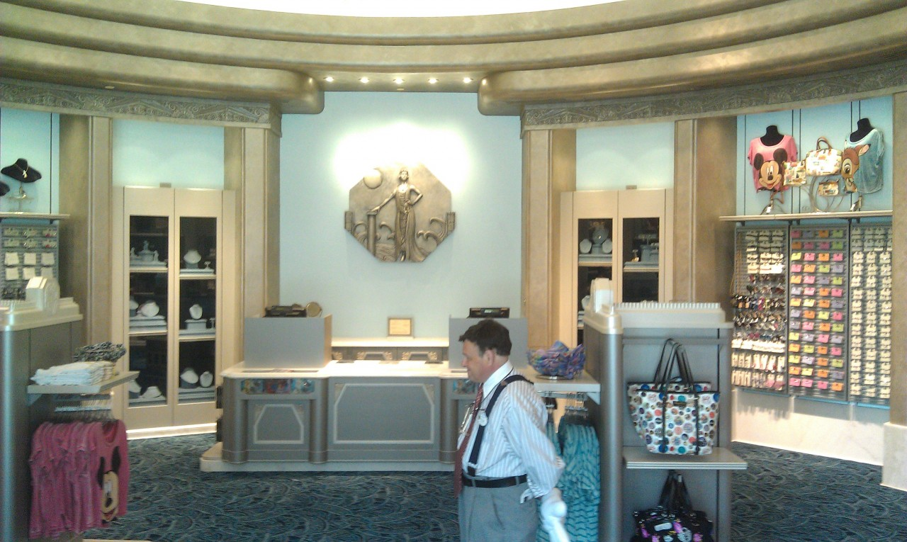 Walking into Elias & Co on #BuenaVistaStreet hard to believe this area used to be the candy store.