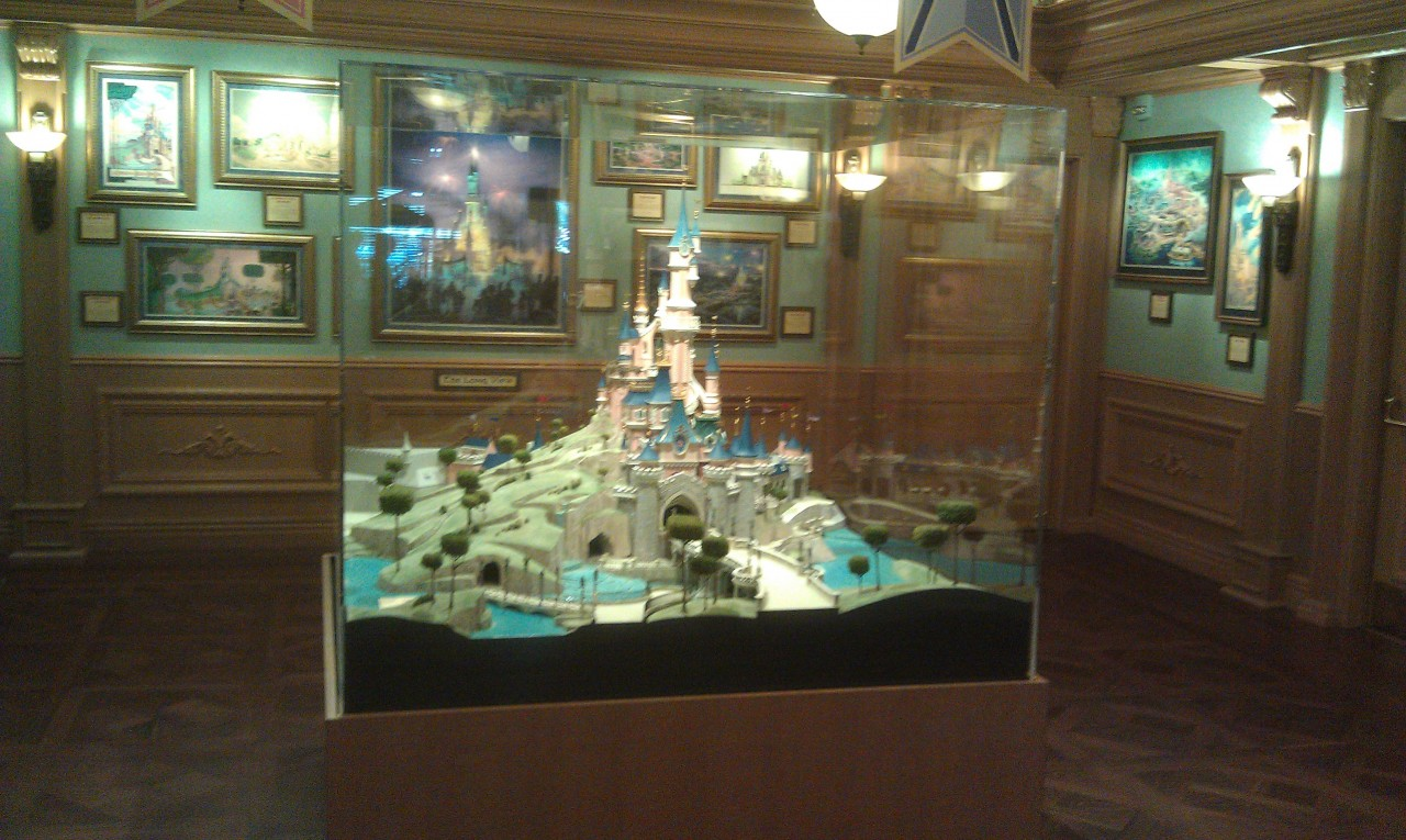 Castles have replaced Trains in the Disney Gallery.