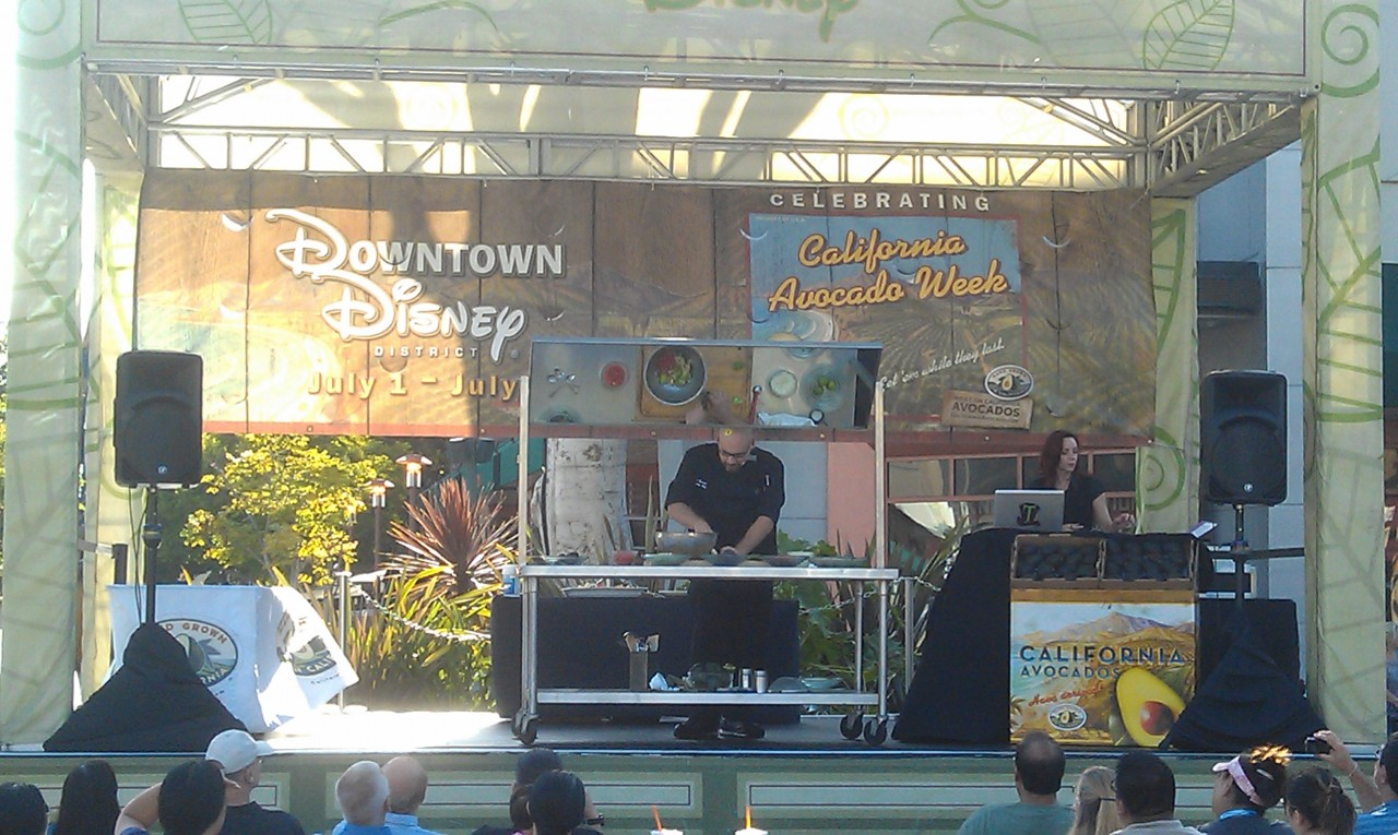 Downtown Disney is celebrating California Avocado Week