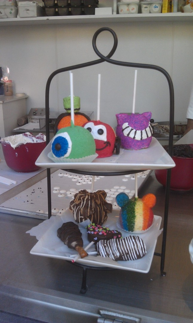 If you prefer sweets.. a look in the window at Marcelines Confectionery