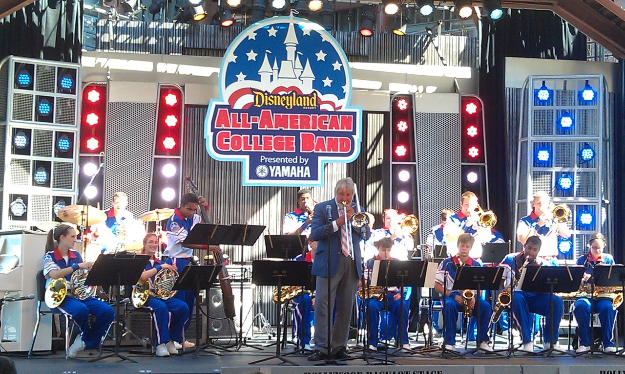 Jiggs Whigham joins the All American College Band today.