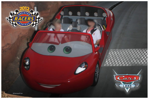 Radiator Springs Racers PhotoPass Picture Sample