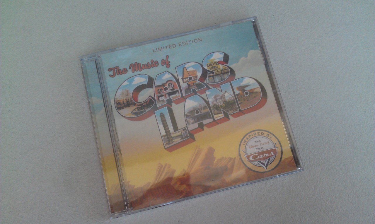 The #CarsLand CD is in stock at tge Elias & Co Mens store today.  Stores in Cars Land are sold out.