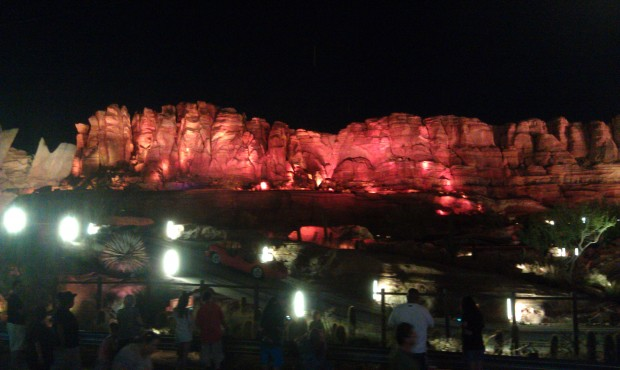 The Radiator Springs Racers are currently down