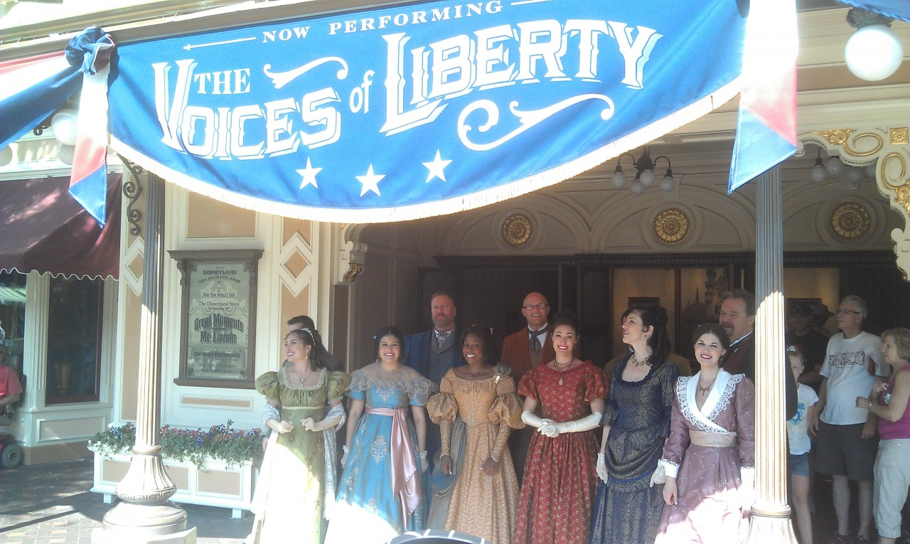 The Voices of Liberty on Main Street USA.
