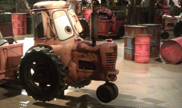 Time for Maters Junkyard Jamboree in #CarsLand