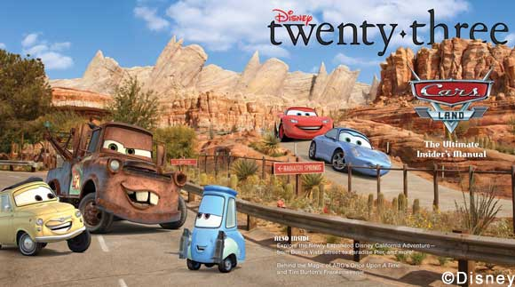 D23 – News & Disney twenty three Fall 2012 Magazine