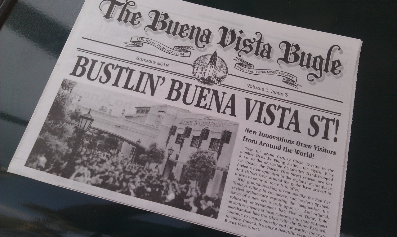 A new issue of the Buena Vista Bugle for August.