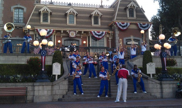 All Anerican College Band starting their last set of the evening.