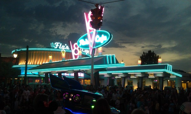 Flos V8 Cafe in #CarsLand
