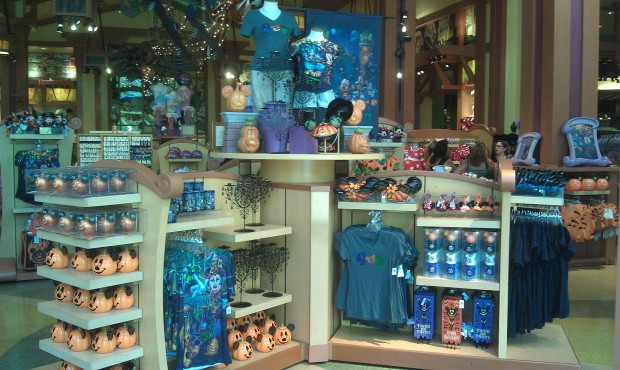 Halloween is front and center in World of Disney