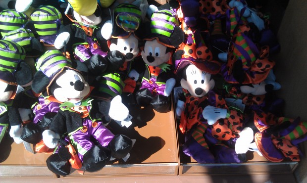 Halloween merchandise starting to show up.
