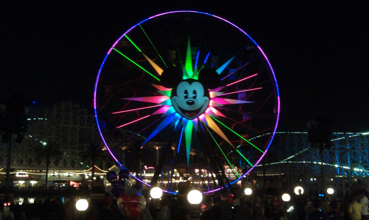 Only 15 minutes till World of Color
