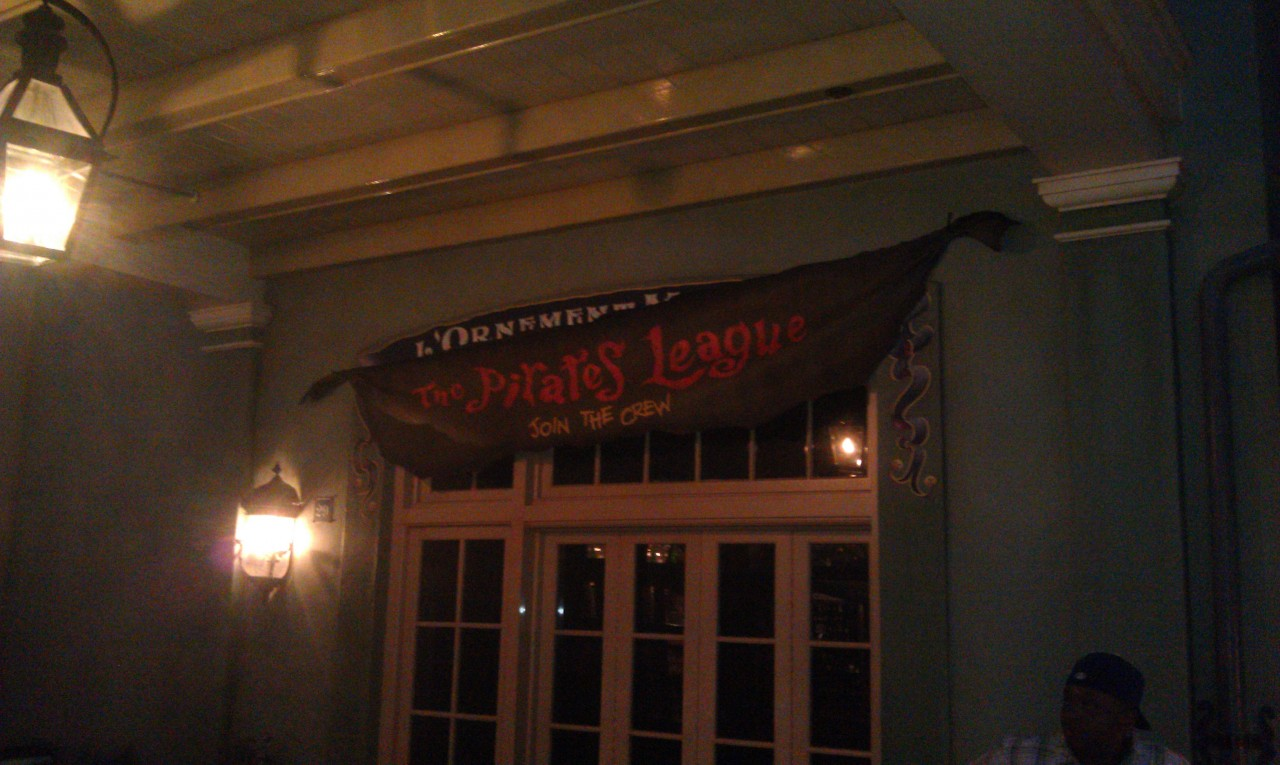 Pirates League opening soon in New Orleans Square