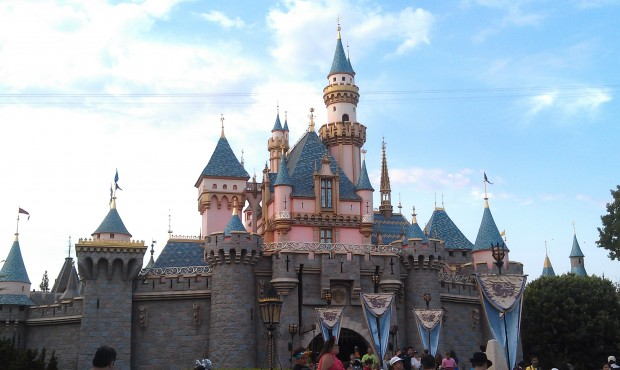 Sleeping Beauty Castle (no real reason except I was walking by and decided to take one)