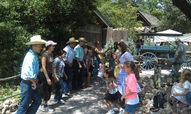 Square Dancing on the Big Thunder Trail