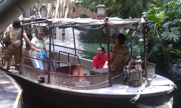 The Jungle Cruise now features nets and bumpers