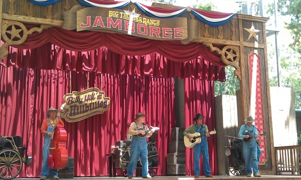 Time for Billy Hill and the Hillbillies at the Big Thunder Ranch Jamboree.