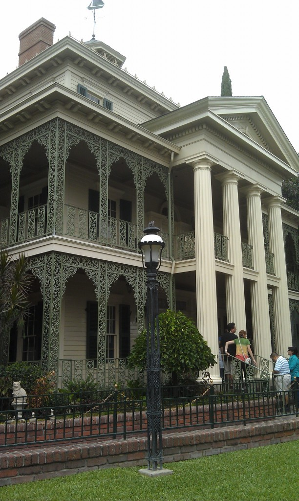 Walked on Pirates and now Haunted Mansion
