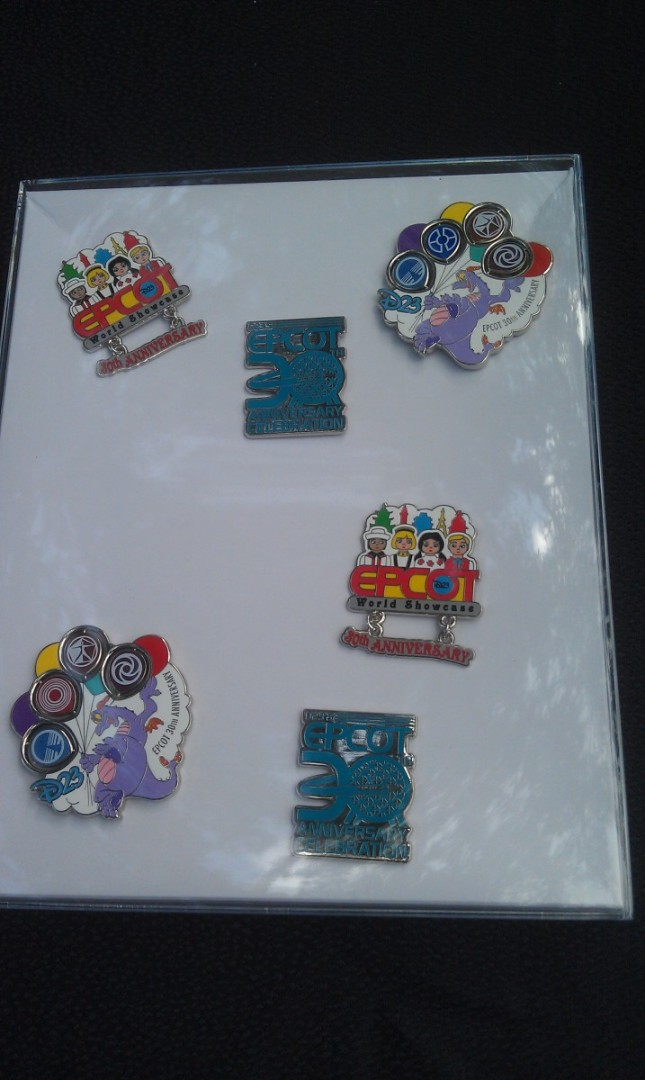 A quick look at the D23 merchandise for tomorrows #EPCOT30 event.