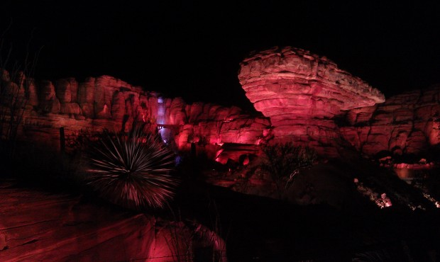 A random Ornament Valley picture from #CarsLand