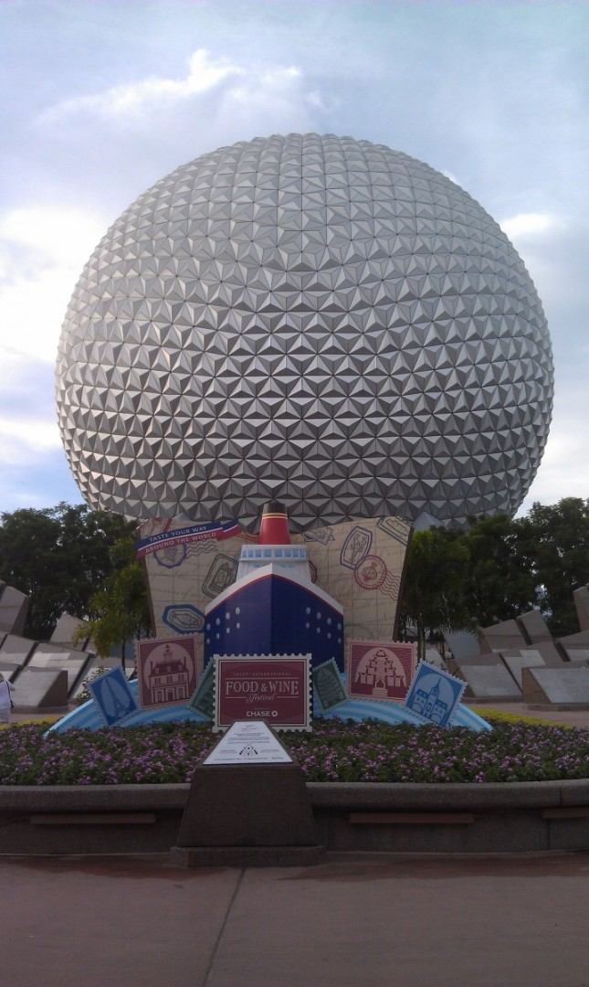 Arriving at EPCOT for the @DisneyD23 #EPCOT30 event