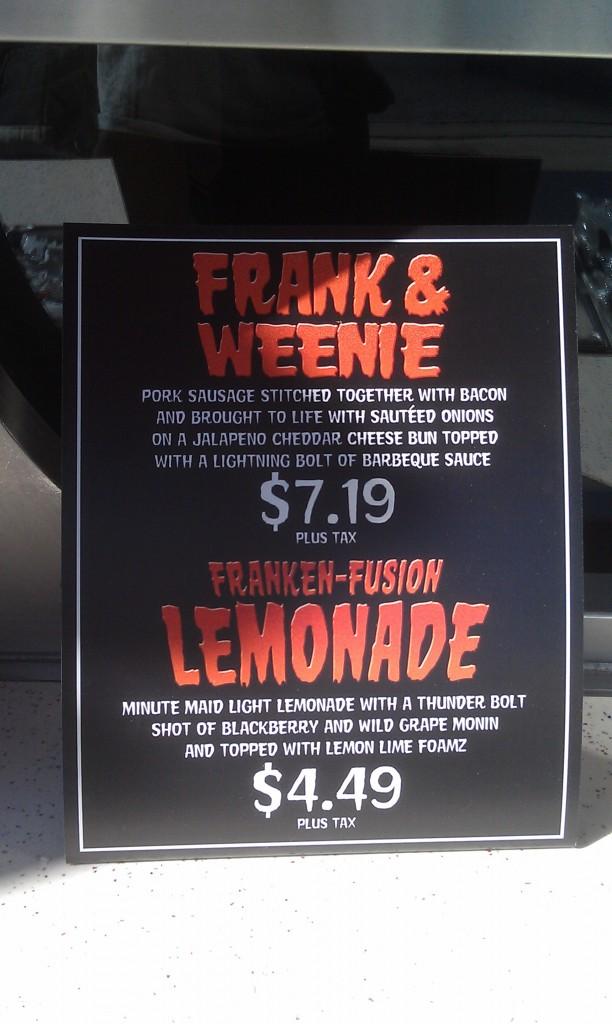 Award Wieners has a couple Frankenweenie inspired items