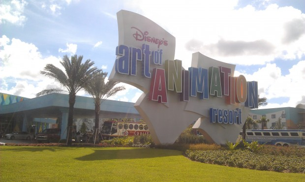 Checking out the Art of Animation Resort now that it is open.