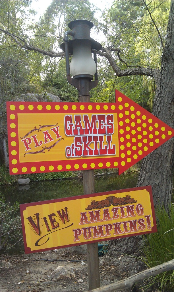 Some new signs up on the Big Thunder trail this week.