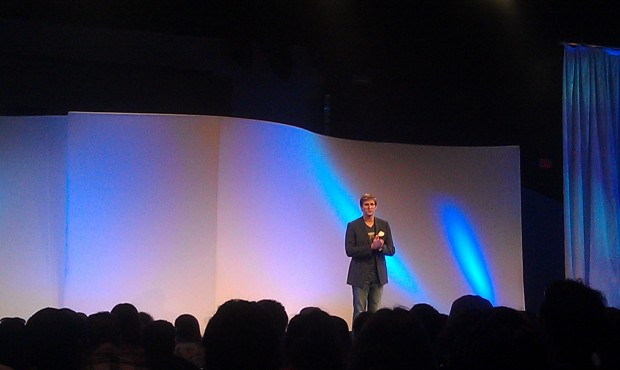 Steven Clark, head if D23 opening the #EPCOT30 event