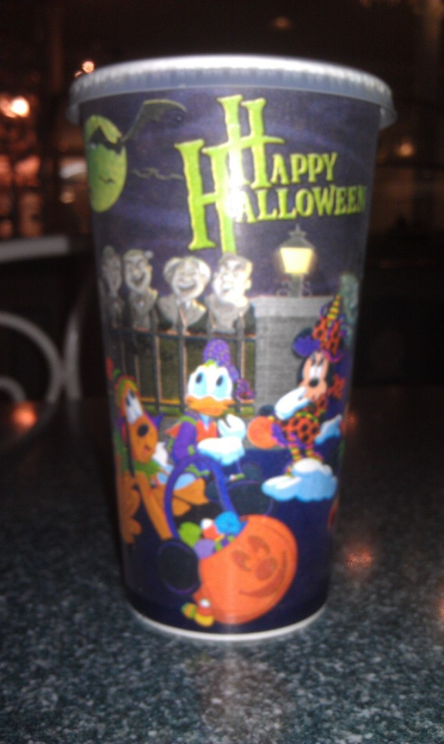 The Halloween beverage cup