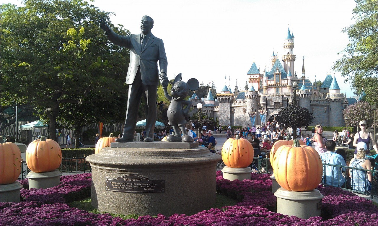 The Partners statue base has been refinished recently.