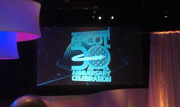 Waiting for the afternoon session of #d23epcot30 to begin