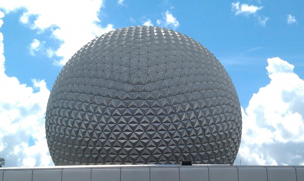At EPCOT for lunch today