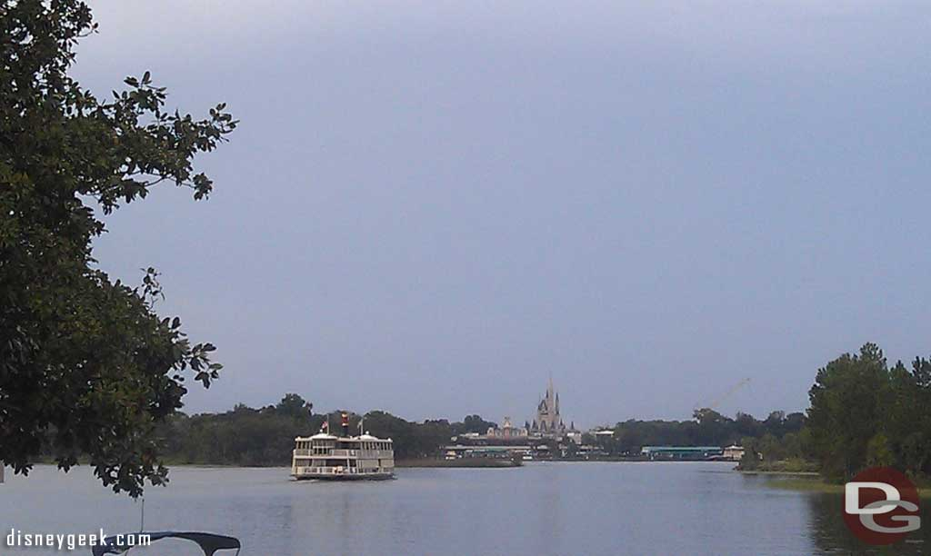 Day 4 late afternoon and finally making it the Magic Kingdom