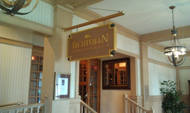 Dinner at Yachtsman tonight.
