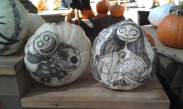 More pumpkins...
