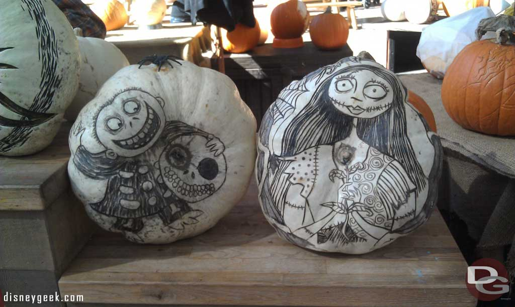 More pumpkins…