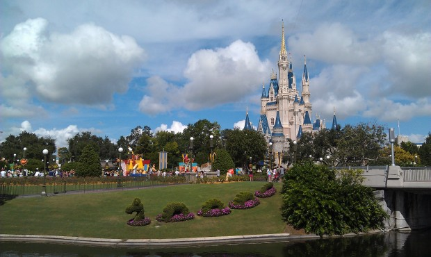 One last Cinderella Castle picture before leaving the MK